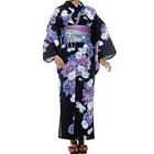 Kansai.yukata 浴衣セット ブラック
