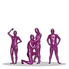 新透明人間 コーティング ピンク 1セット