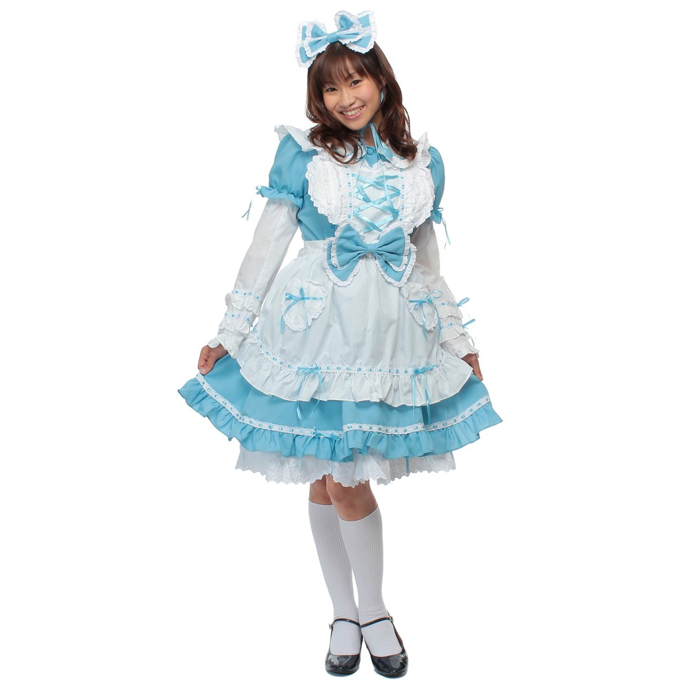 不思議の国のアリス デコレーションドレス ライトブルー