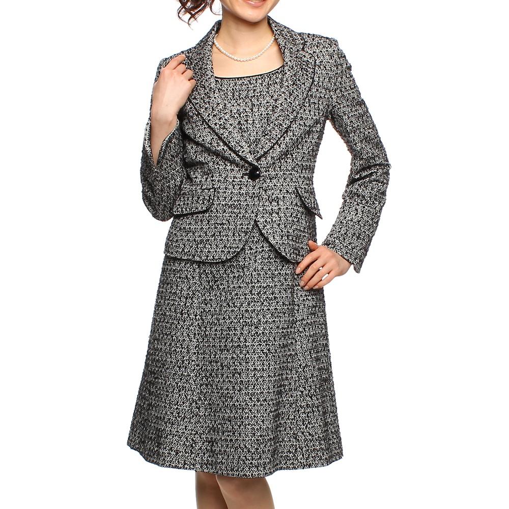 f-mode ワンピーススーツ グレー