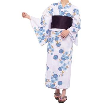 summer style 爽やか 桜 浴衣セット ライトブルー