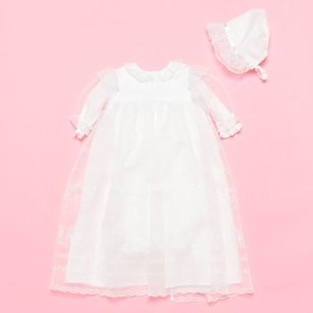 familiar ベビードレス ホワイト