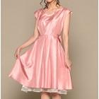 スウィートアズ ミディアムドレス ピンク