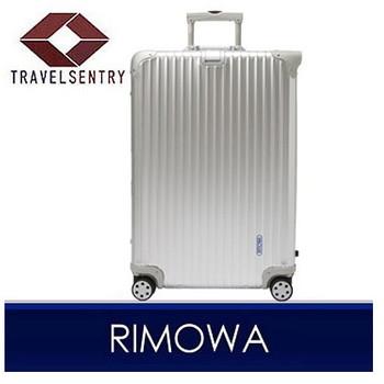 【8〜14泊】リモワ TOPAS 4輪 82L スーツケース シルバー