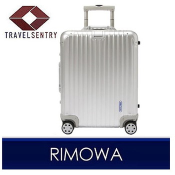 【1〜3泊】リモワ TOPAS 4輪 48L スーツケース シルバー