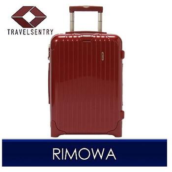 【1〜3泊】リモワ SALSA Deluxe 2輪 35L スーツケース レッド