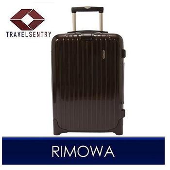 【1〜3泊】リモワ SALSA Deluxe 2輪 35L スーツケース ブラウン