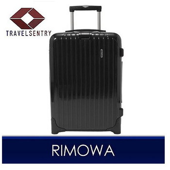 【1~3泊】リモワ SALSA Deluxe 2輪 35L スーツケース ブラック
