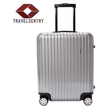 【1〜3泊】リモワ SALSA 4輪 48L スーツケース シルバー