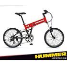 ハマー 折りたたみ自転車(20インチ) レッド