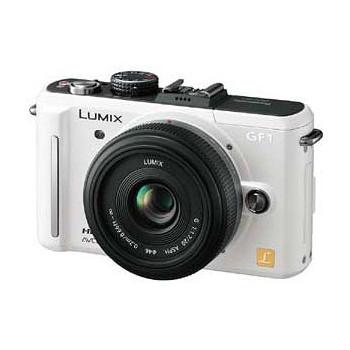 【パナソニック/ムービー1眼】LUMIX DMC-GF1 レンズキット
