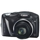【キヤノン/Power Shot】1200万画素 デジタルカメラ PS-SX130-IS-BK(SDカード2GBプレゼント付)