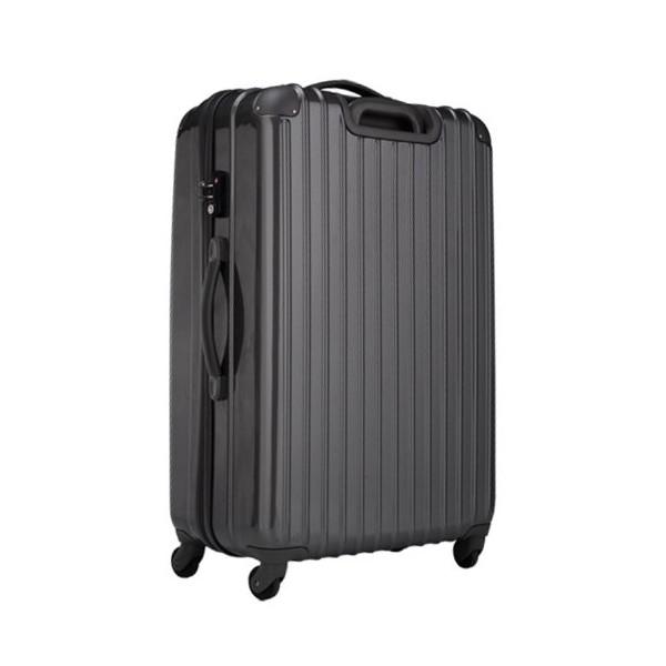 【8〜14泊】Travel house 軽量 TSAロック付き 4輪 97L スーツケース グレー