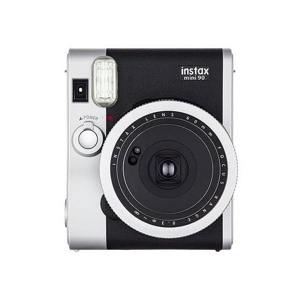 【富士フィルム/インスタントカメラ】チェキ instax mini 90 ネオクラシック(専用フィルム付き)