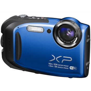【富士フイルム/ファインピックス】1600万画素 防水デジタルカメラ FinePix XP70[ブルー]