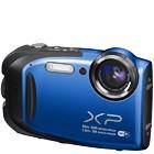 【富士フイルム/ファインピックス】1600万画素 防水デジタルカメラ FinePix XP70[ブルー](SDカード2GBプレゼント付)