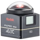 【Kodak/アクションカメラ】360°アクションカメラ PIXPRO SP360 4K ダブルベースマウントセット