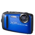 【富士フイルム/ファインピックス】1640万画素 防水デジタルカメラ FinePix XP90[ブルー]