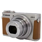 【キヤノン/Power Shot】2010万画素 デジタルカメラ G9 X Mark II シルバー(SDカード2GBプレゼント付)