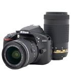 【ニコン/デジタル一眼レフカメラ】2416万画素 D3400 ダブルズームキット ブラック