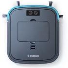 【エスキュービズム/超薄型床用ロボット掃除機】SCC-R05GM ガンメタリック/ブルーメタリック