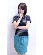 小鳥遊レイラ☆グリーン系スカート