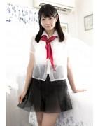 朝倉恵梨奈 最新DVD「魅惑のバニーガール」内で撮影した制服