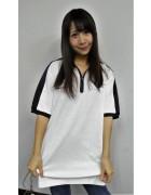☆結月こころ 直筆サイン入りmotoGPポロシャツ(白×黒)☆