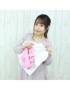 ☆チェキ直筆サイン入☆ミアコスチュームモデル 朱里(あかり) ワン・ツー体操  ピンク Mサイズ