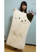 ☆結月こころ 直筆サイン入りネコ型ロングクッション☆