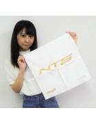 ☆結月こころ 直筆サイン入りハンカチ(白×金)☆