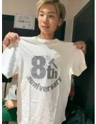 トピアマルピピ・SHUN直筆サイン入り【8周年】Tシャツ