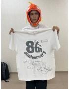 トピアマルピピ・Re:9直筆サイン入り【8周年】Tシャツ
