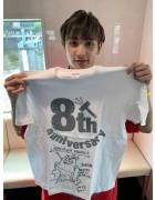 URAGAWA・ジュラン直筆サイン入り【8周年】Tシャツ