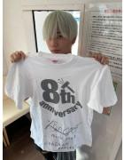 URAGAWA・ひなた直筆サイン入り【8周年】Tシャツ