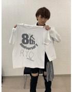 URAGAWA・りょう直筆サイン入り【8周年】Tシャツ