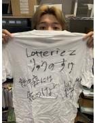 lotteriez・りゅうのすけ直筆サイン入り【8周年】Tシャツ