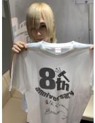 12星座リウム・Manato直筆サイン入り【8周年】Tシャツ