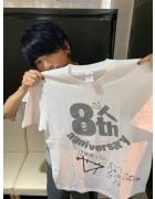 12星座リウム・佐藤玲直筆サイン入り【8周年】Tシャツ