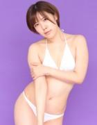 皆月なる☆直筆サイン入り写真&撮影衣装(ホワイト)