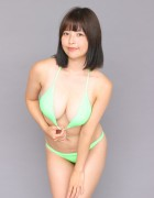 月野夏海☆直筆サイン入り写真&撮影衣装(パステルグリーン)