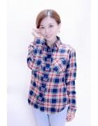 manami☆ネルシャツ