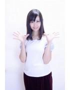 美良山さつき☆肩ブルーTシャツ