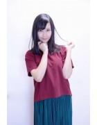 美良山さつき☆レッド系トップス