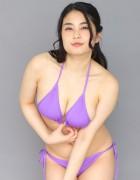 トロたん☆直筆サイン入り写真&直筆サイン入り撮影衣装(パープル)
