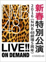 2016年1月1日(金) 『新春特別公演2016』 NMB48劇場5周年