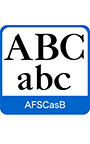 AFS復刻欧文フォント AFSCasB