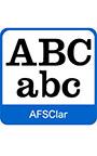 AFS復刻欧文フォント AFSClar