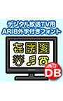 AFS デジタル放送TV用ARIB外字付きフォント DB