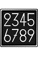 AFS シリアル番号専用フォント